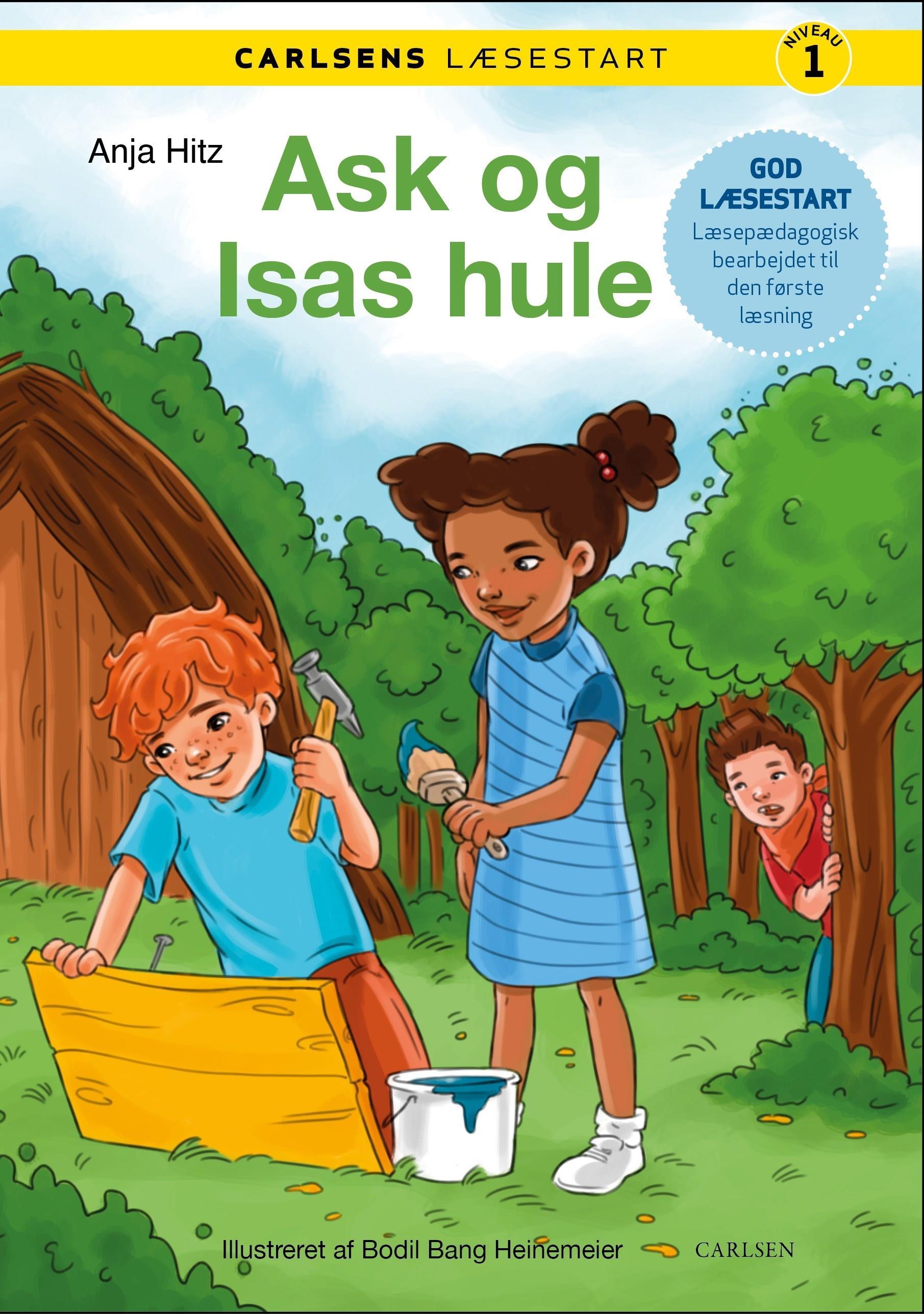 Carlsens Læsestart: Carlsens læsestart - Ask og Isas hule - Anja Hitz - Bøger - CARLSEN - 9788711983164 - 17/3-2020