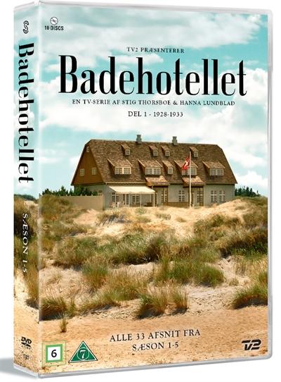 Badehotellet 1-5 - Badehotellet - Film -  - 5706169001166 - 28/1-2021