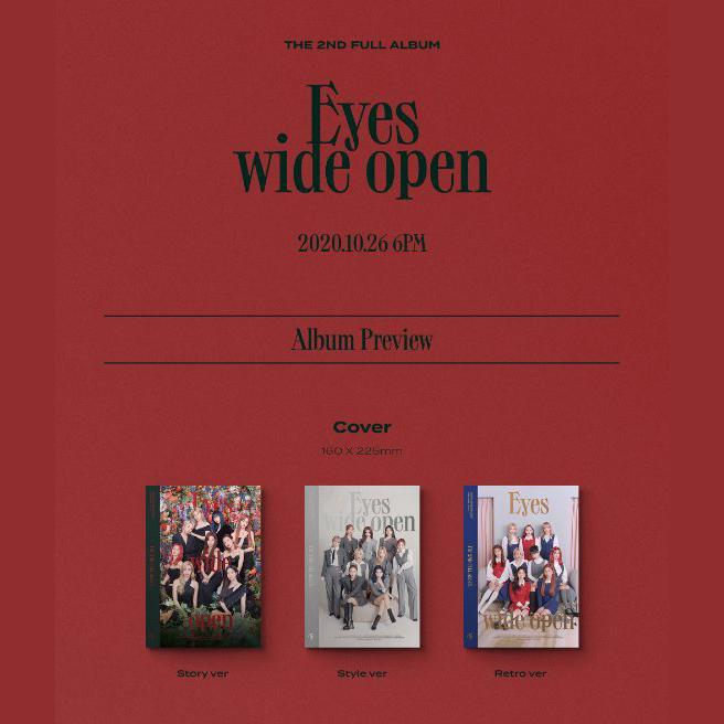 VOL.2 [EYES WIDE OPEN] - TWICE - Musik -  - 8809633189166 - 28/10-2020