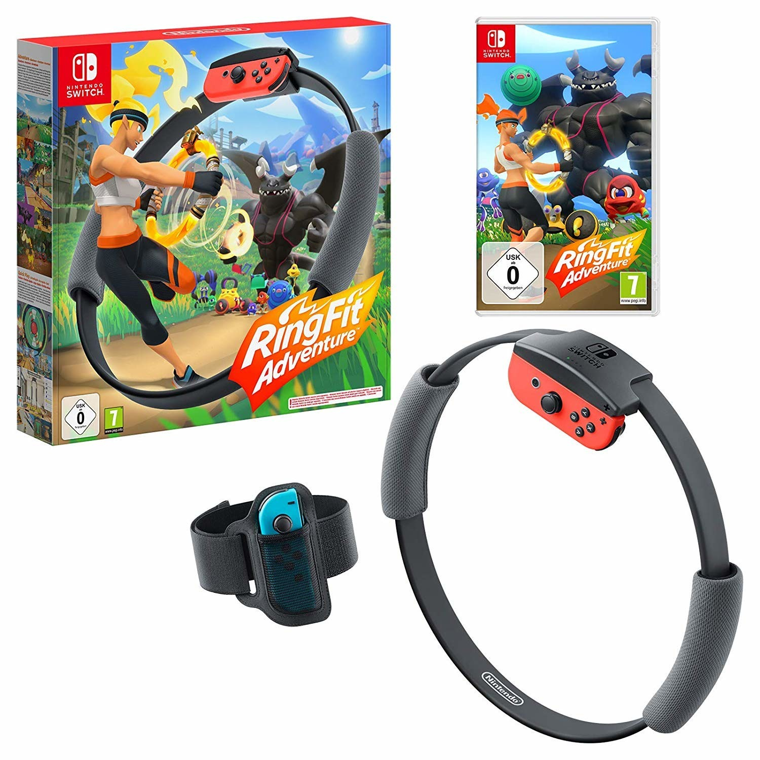 Ring Fit Adventure Switch - Switch - Spil -  - 0045496424169 -