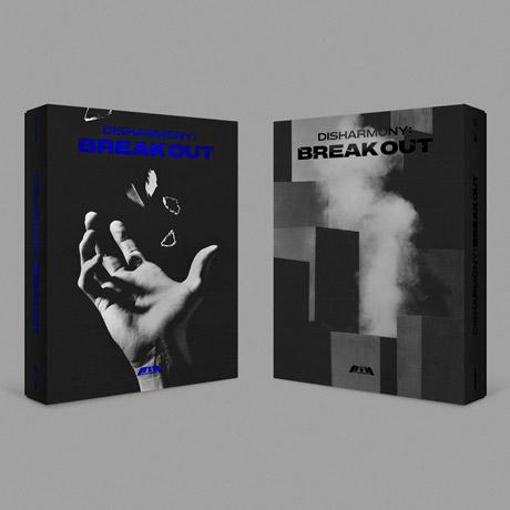 DISHARMONY : BREAK OUT (2ND MINI ALBUM) - P1HARMONY - Musik -  - 8804775159169 - May 3, 2021