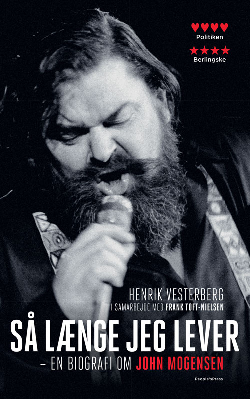 Så længe jeg lever - Henrik Vesterberg og Frank Toft-Nielsen - Bøger - People'sPress - 9788770368179 - 28/11-2019