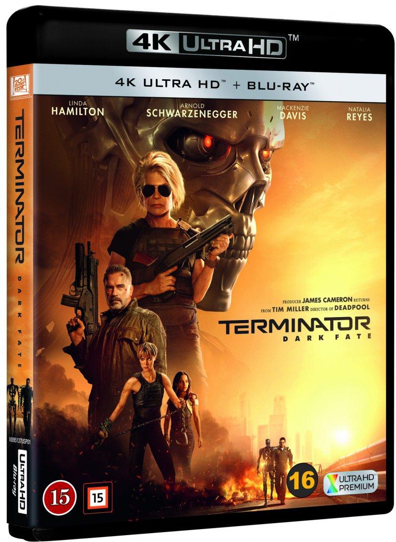 Terminator: Dark Fate -  - Film -  - 7340112751180 - 16/3-2020