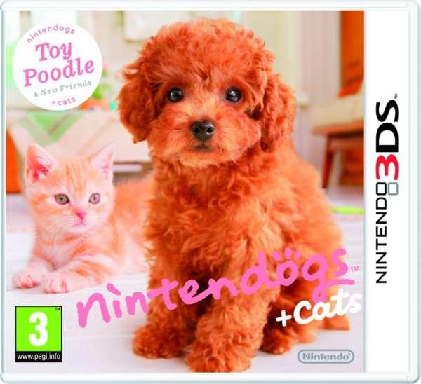 Nintendogs+Cats,Zwerg,Nin.3DS.2220240 -  - Bøger -  - 0045496520182 -