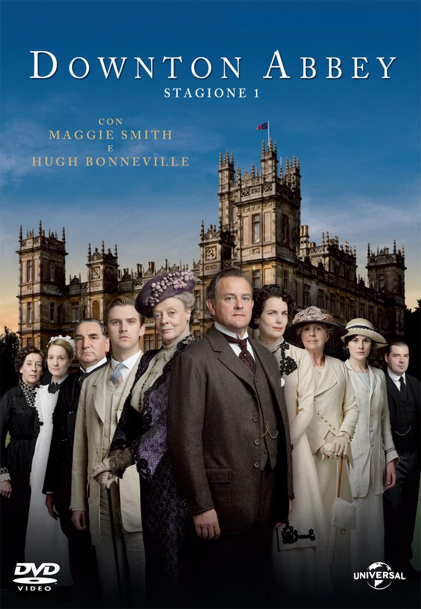 Downton Abbey - Stagione 01 - Hugh Bonneville,elizabeth Mcgovern,maggie Smith,penelope Wilton - Film - UNIVERSAL PICTURES - 5050582924183 -