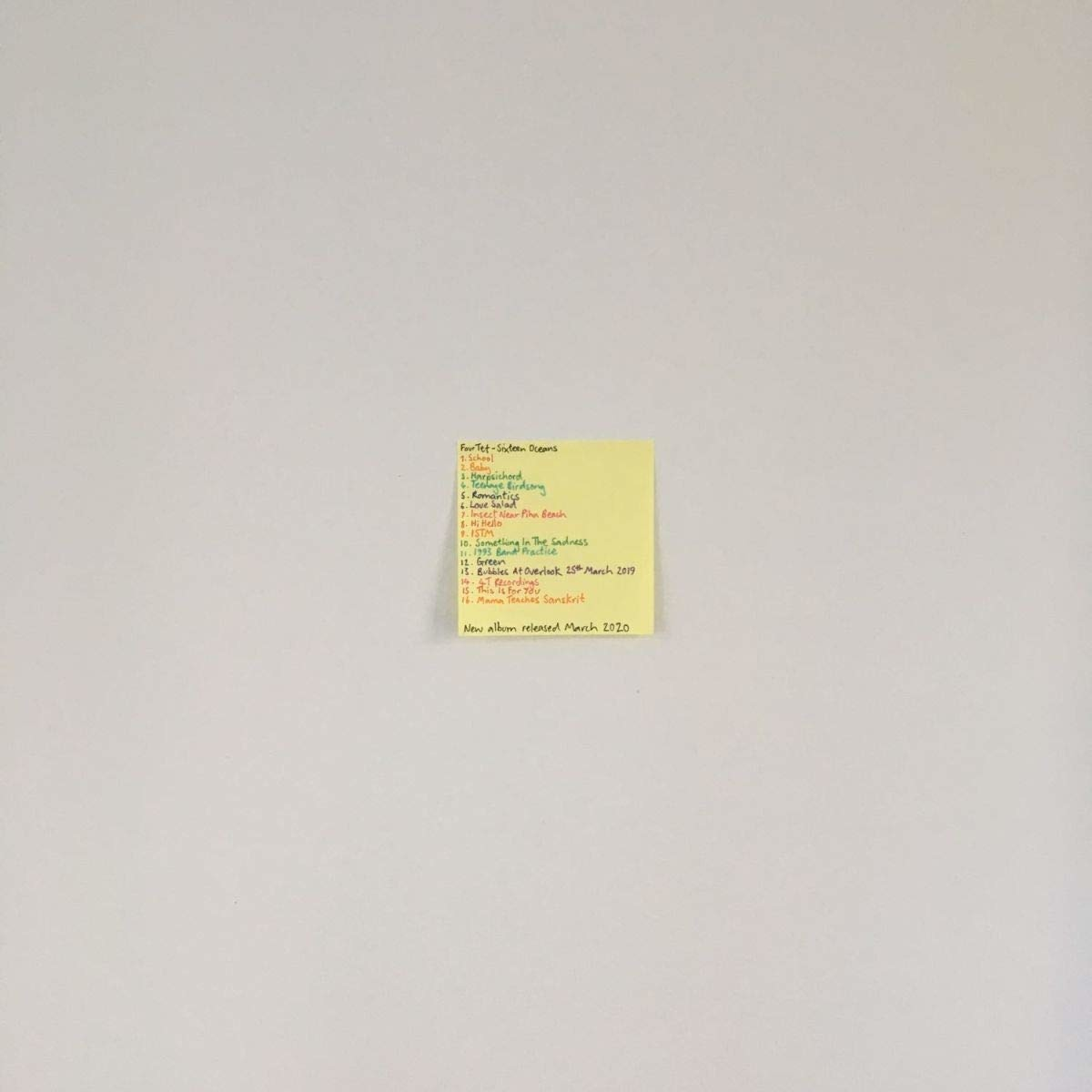 Sixteen Oceans - Four Tet - Musik - TEXT - 5051142007186 - Mar 20, 2020