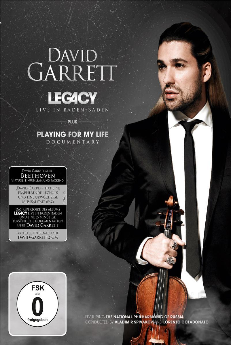 Playing for My Life - David Garrett - Film - DECCA - 0044007628188 - 12/1-2012