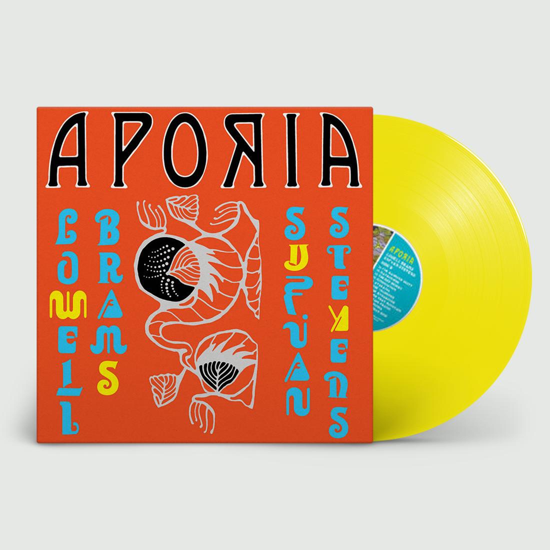 Aporia (Yellow Vinyl) - Sufjan Stevens & Lowell Brams - Musik - ASTHMATIC KITTY - 0729920164189 - 27/3-2020