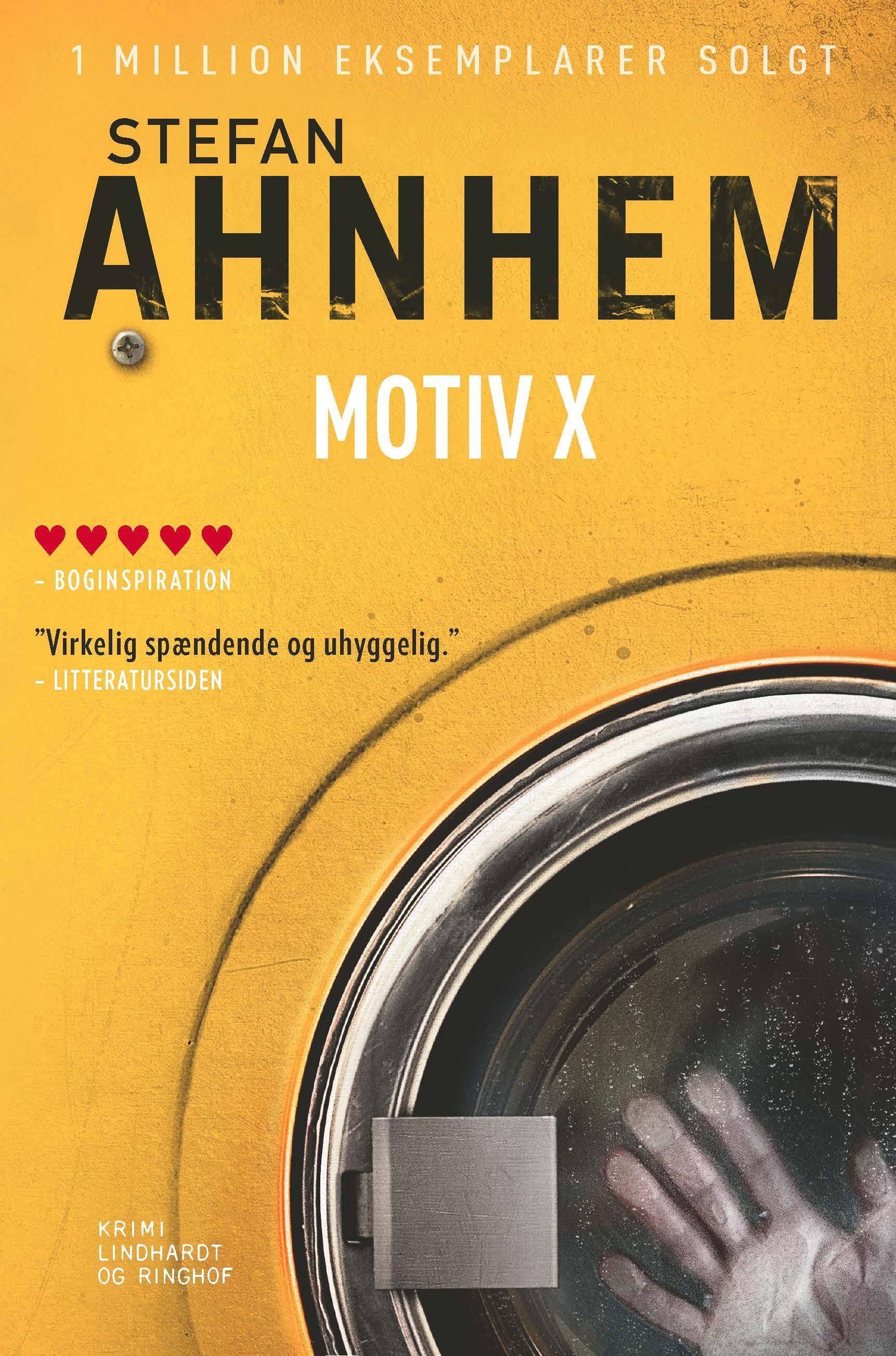 Fabian Risk-serien: Motiv X - Stefan Ahnhem - Bøger - Lindhardt og Ringhof - 9788711917190 - February 3, 2020