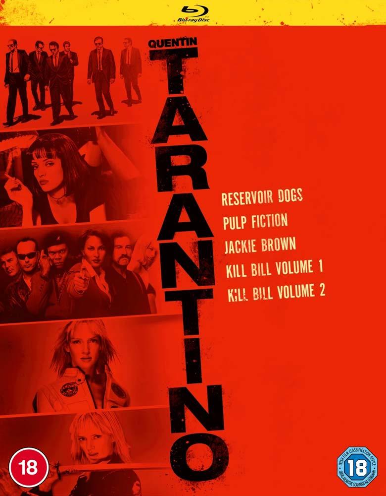 Quentin Tarantino Collection (Pulp Fiction. Kill Bill Vol. 1. Kill Bill Vol. 2. Jackie Brown. Reservoir Dogs) -  - Film - MIRAMAX - 5056453200196 - 2/11-2020