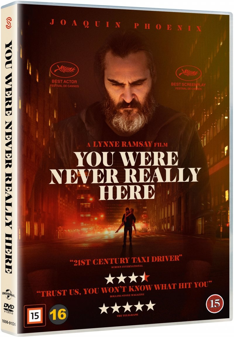 You Were Never Really Here - Joaquin Phoenix - Film -  - 5706169001203 - 2/8-2018