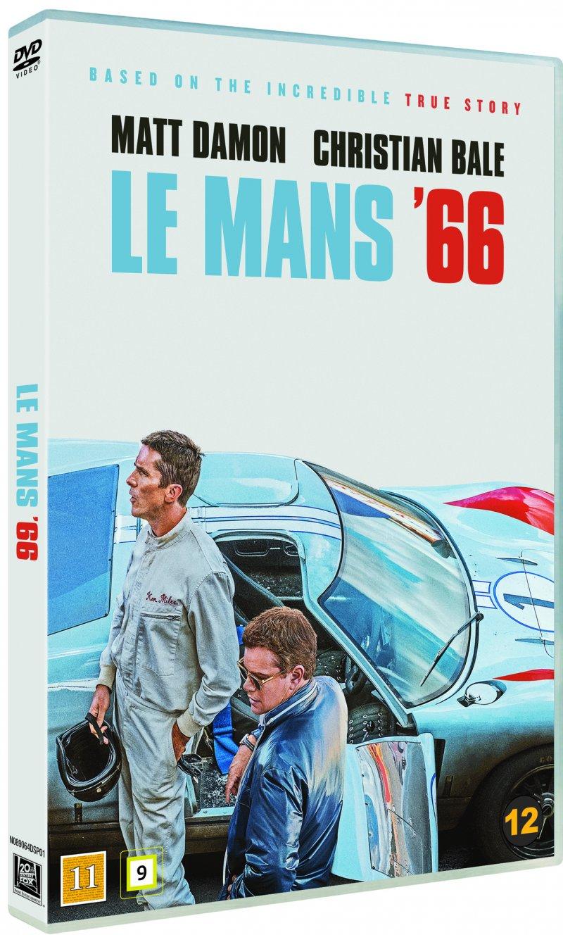 Le Mans 66 / Ford vs Ferrari -  - Film -  - 7340112751203 - 30/3-2020
