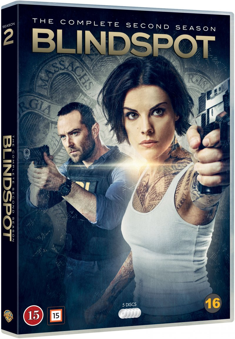 Blindspot - The Complete Second Season - Blindspot - Film -  - 7340112741204 - 30/11-2017