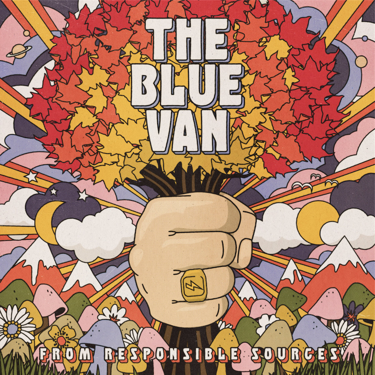 From Responsible Sources - The Blue Van - Musik - Rå Lyd Records - 5707471073209 - 27/11-2020