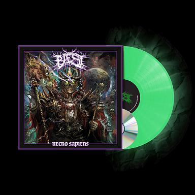 Necro Sapiens (Glow In The Dark Vinyl) - BAEST - Musik -  - 0194398502212 - March 5, 2021