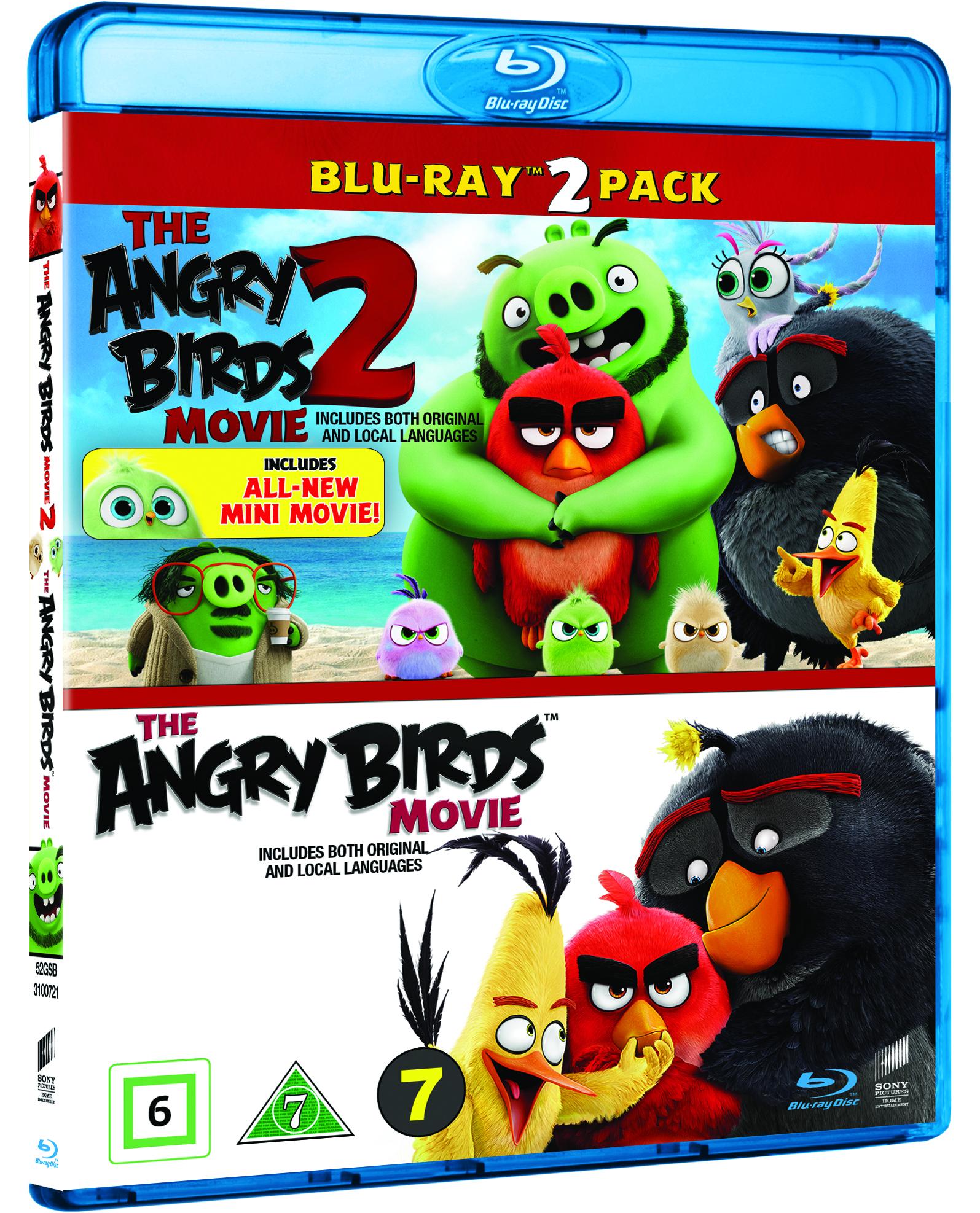 Angry Birds Movie 1+2 Box -  - Film -  - 7330031007215 - 30/1-2020