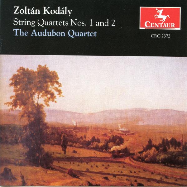 String Quartets 1: I. and - Kodaly / Audubon Quartet - Musik - DAN - 0044747237220 - 1/3-1998