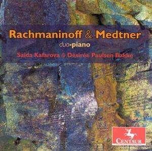 Russian Round Dance / Russian Rhapsody - Rachmaninoff / Medtner / Duo Piano - Musik - Centaur - 0044747282220 - February 27, 2007