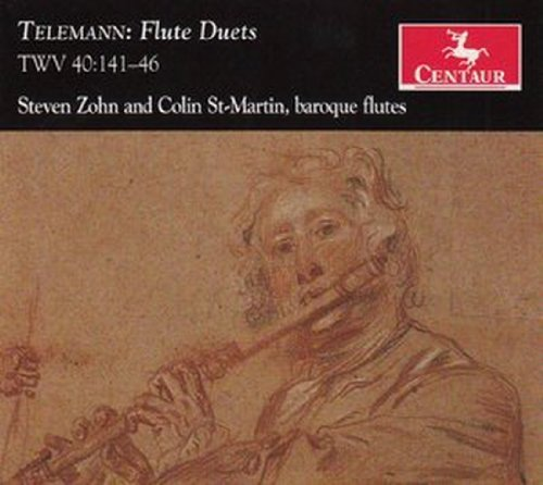 Flute Duets - Steven Zohn - Musik - CENTAUR - 0044747310220 - March 21, 2012