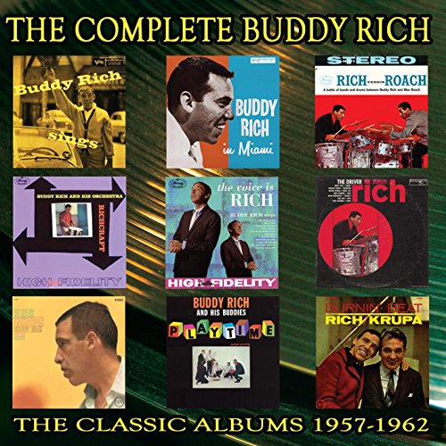 Complete Collection 1957-1962 - Buddy Rich - Musik - ENLIGHTENMENT - 0823564662220 - July 15, 2015