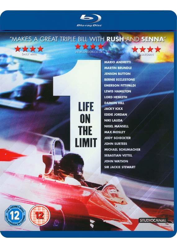 1 - Life on the Limit BD - Paul Crowder - Film - Elevation - 5055201826220 -