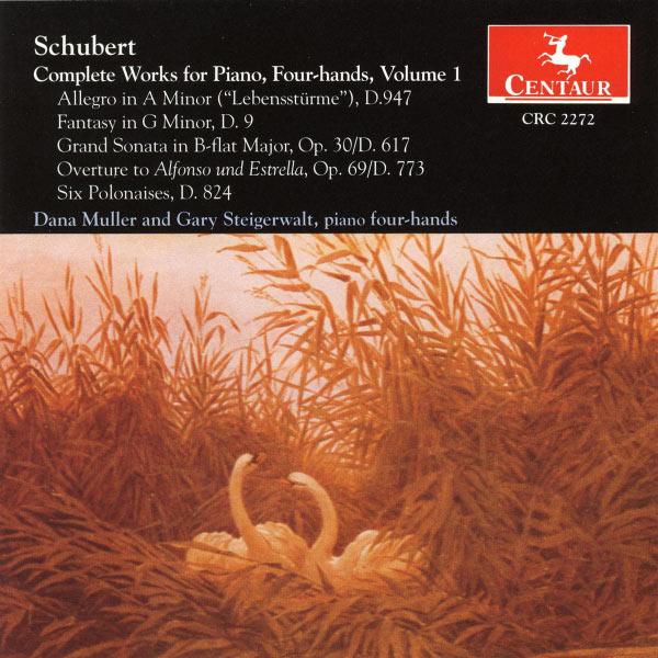 Works for Piano - Schubert / Muller / Steigerwalt - Musik -  - 0044747227221 - 19/11-1996