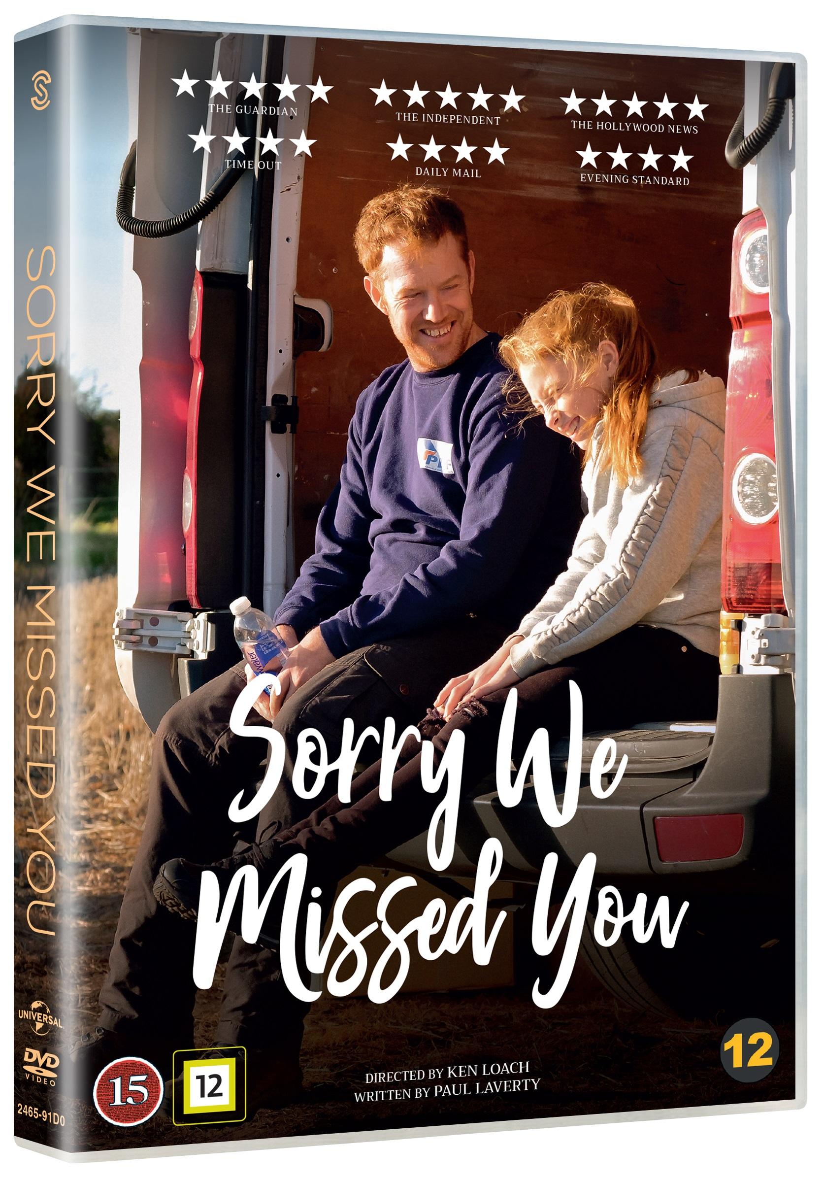 Sorry We Missed You -  - Film -  - 5706169003221 - 27/4-2020