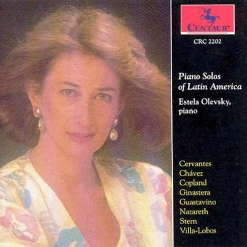 Piano Solos of Latin America / Various - Piano Solos of Latin America / Various - Musik - Centaur - 0044747220222 - 15/4-2000