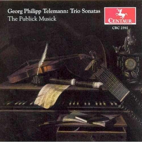 Trio Sonatas - Telemann / Publick Musick - Musik - CENTA - 0044747259222 - 26/11-2002