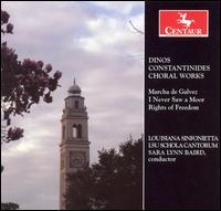 Choral Works - Louisiana Sintonietta - Musik - CENTAUR - 0044747291222 - 30/4-2014