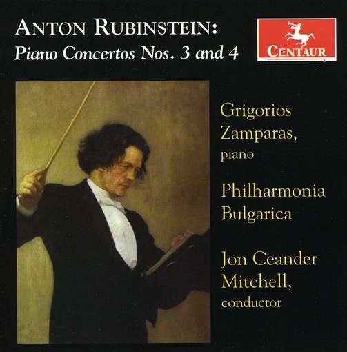 Piano Concertos Nos.3 & 4 - A. Rubinstein - Musik - CENTAUR - 0044747303222 - 7. juli 2017