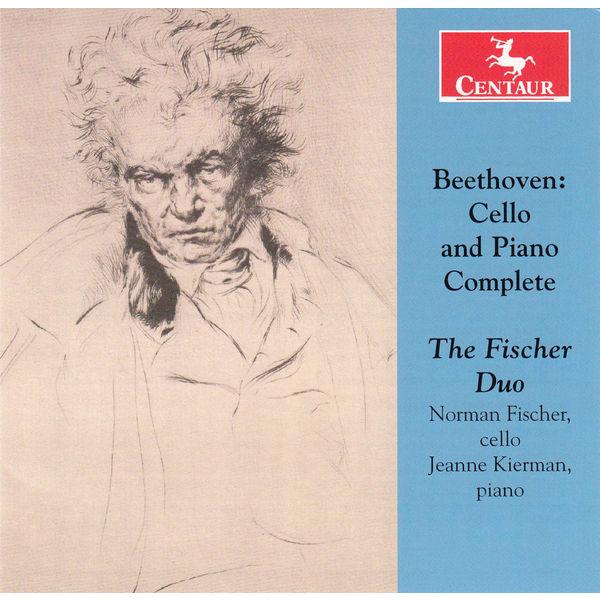 Cello & Piano Complete - Beethoven - Musik - CENTAUR - 0044747332222 - 4/3-2014