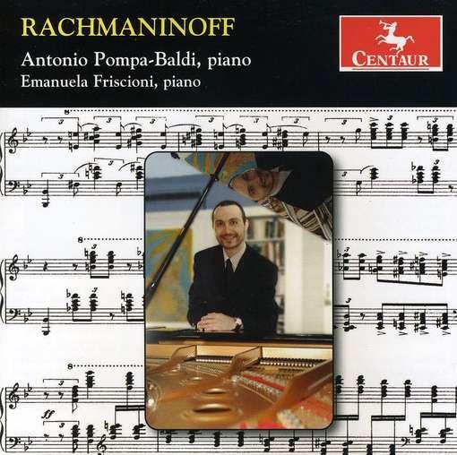 Sonata 2 in B Flat Minor / Variations on Corelli - Rachmaninoff / Pompa-baldi / Friscioni - Musik - CENTA - 0044747306223 - February 22, 2011