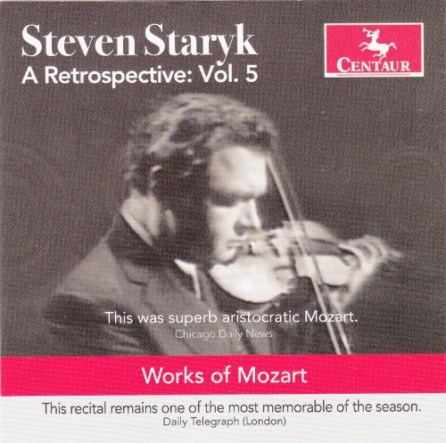 A Retrospective Vol.4 - Steven Staryk - Musik - CENTAUR - 0044747322223 - July 7, 2017