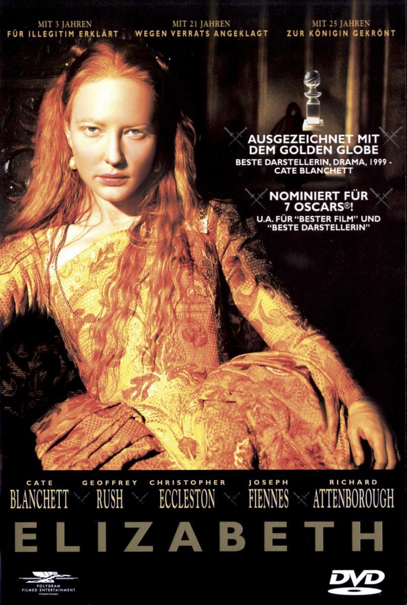 Elizabeth - Cate Blanchett,geoffrey Rush,christopher... - Film - POLYGRAM FILMED ENTERTAIN - 0044005827224 - 13/5-1999