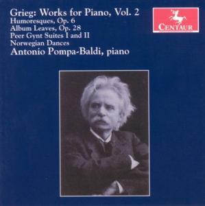 Works for Piano V.2 - Antonio Pompa-baldi - Musik - CENTAUR - 0044747271224 - 30/4-2014