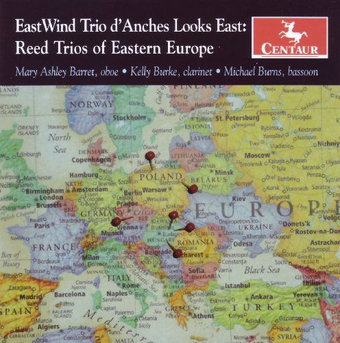 Looks East: Reed Trios of Eastern Europe - Eastwind Trio D'anches - Musik - Centaur - 0044747297224 - July 28, 2009
