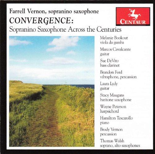 Convergence - Farekk Vernon - Musik - CENTAUR - 0044747325224 - April 30, 2013
