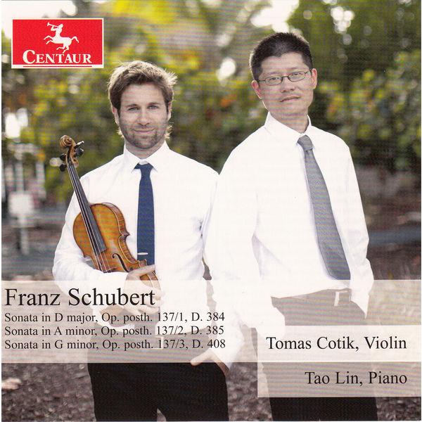 Violin Sonatas - F. Schubert - Musik - CENTAUR - 0044747341224 - 6/5-2015