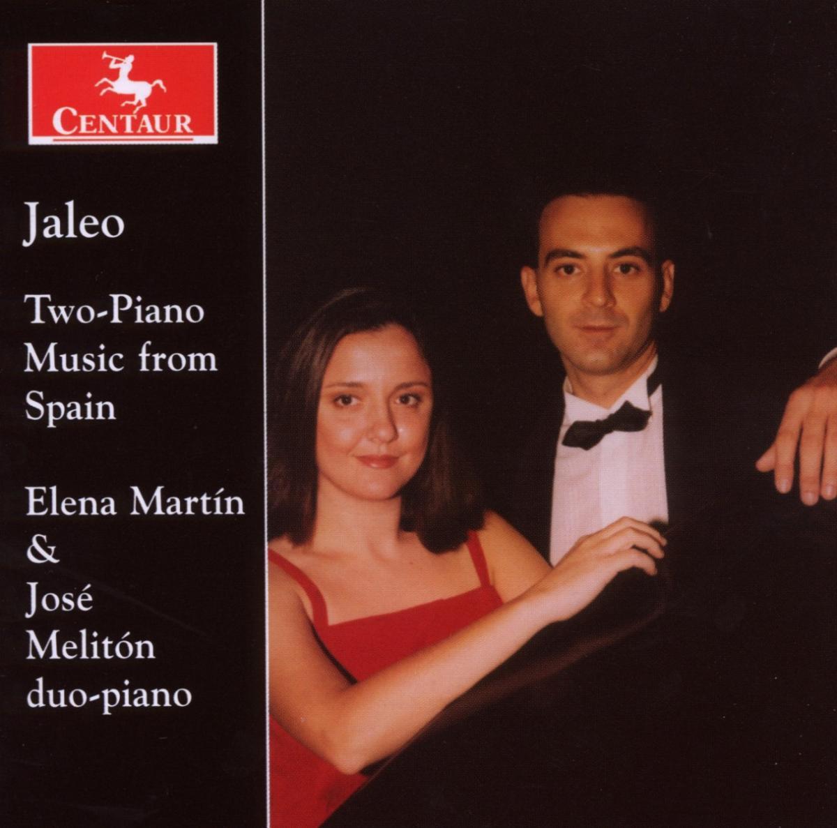 Jaleo - Two-piano Music from Spain - Martin / Meliton - Musik - CENTAUR - 0044747290225 - 30/4-2014