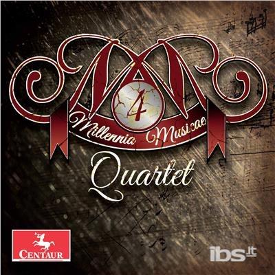 Millennia Musicae Quartet - Douglas / Phillips / Sebba - Musik -  - 0044747357225 - 6/10-2017