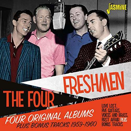 Four Original Albums Plus Bonus Tracks 1959-1960 - Four Freshmen - Musik - JASMINE - 0604988086225 - 11/11-2017