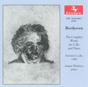Complete Works for Cello and Piano - Beethoven - Musik - CENTAUR - 0044747264226 - 6/2-2004
