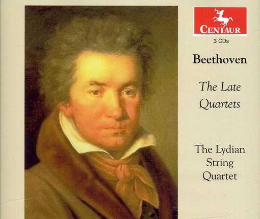 Late Quartets - Lydian String Quartet - Musik - CENTAUR - 0044747321226 - June 20, 2012