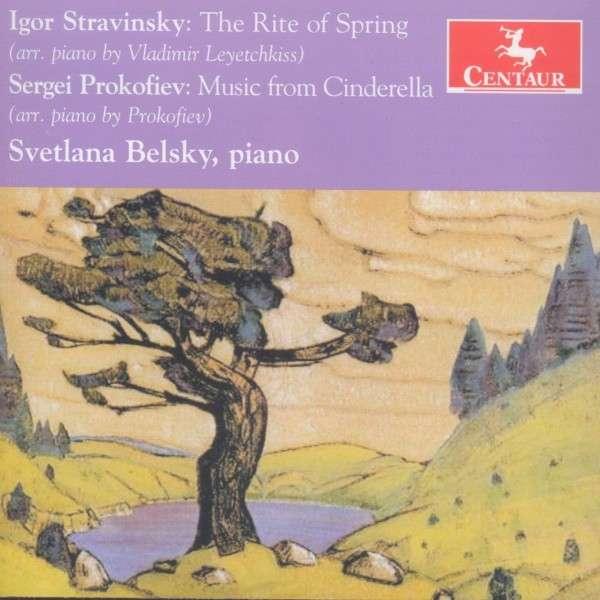 Russische Ballette in Klavierfassung - Svetlana Belsky - Musik - CENTAUR - 0044747334226 - July 2, 2014