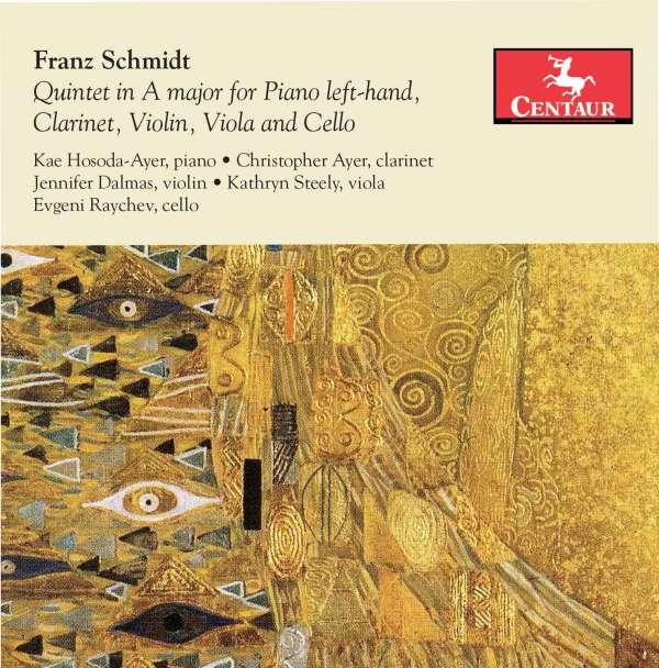 Quintet in a Major for Piano Left Hand - F. Schmidt - Musik - CENTAUR - 0044747347226 - 7/9-2018