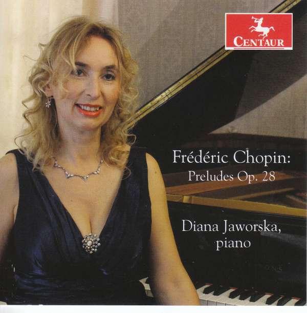 Chopin: Preludes Op 28 - Chopin / Jaworska - Musik - CAV - 0044747350226 - October 14, 2016