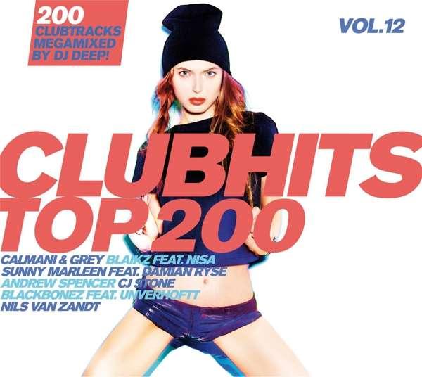Clubhits Top 200 Vol.12 - V/A - Musik - QUADROPHON - 4032989943227 - 14/9-2018