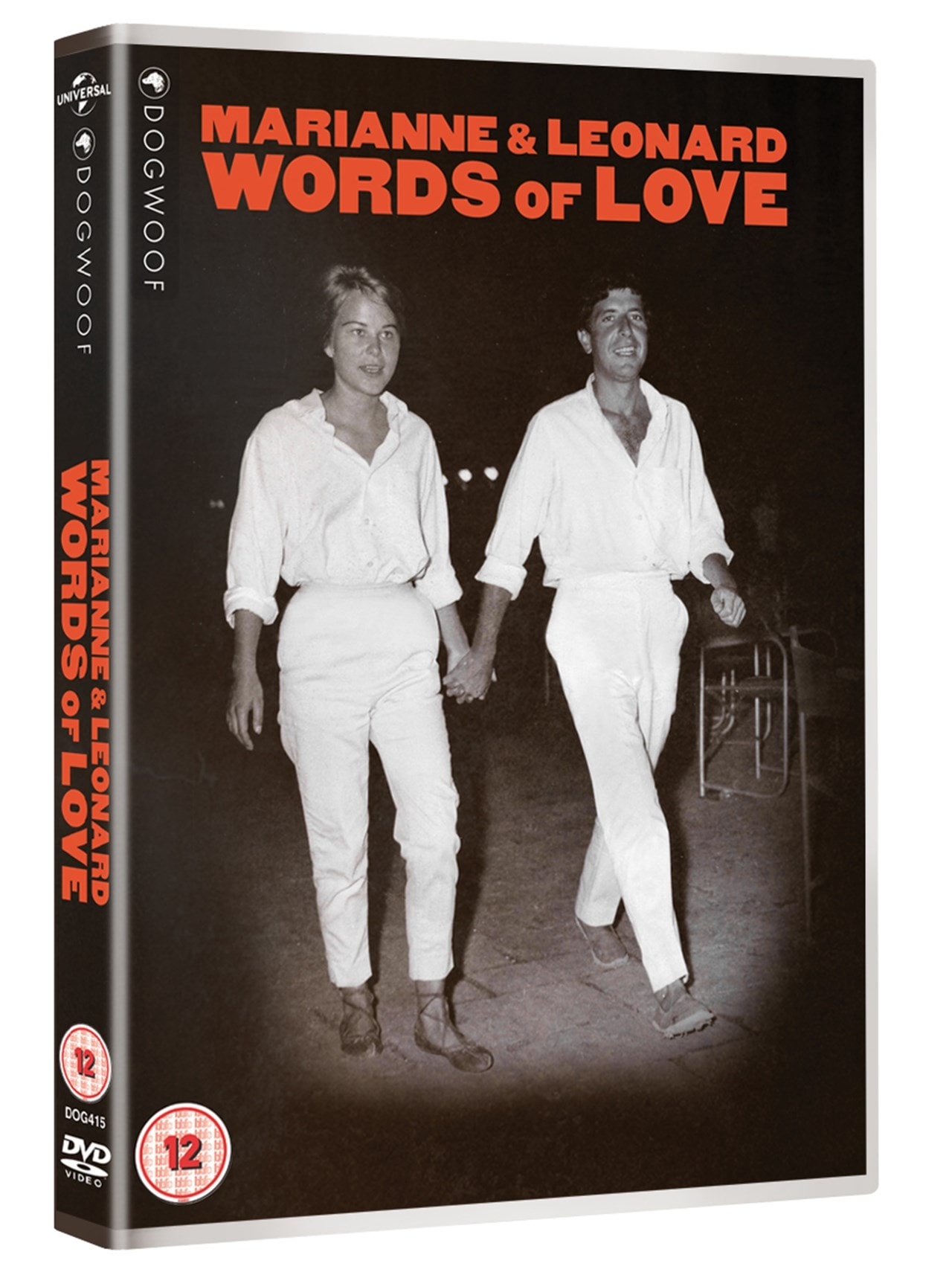 Marianne  Leonard Words of Love - Leonard Cohen - Film - DOGWOOF - 5050968003228 - October 14, 2019