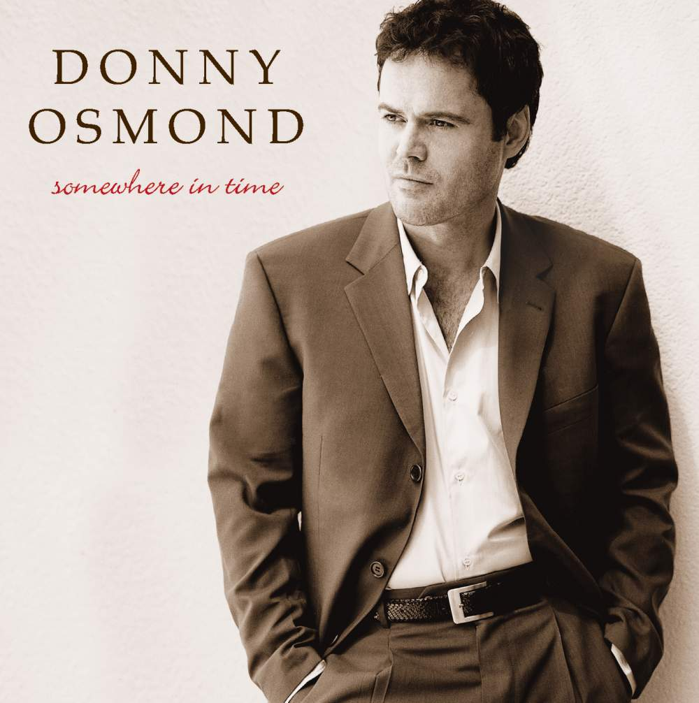 Somewhere in Time - Donny Osmond - Musik - POP - 0044001891229 - 4/3-2014